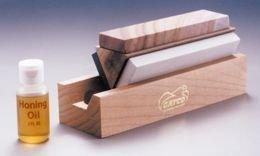 Gatco 8T001 Arkansas Tri-Hone Sharpening System by Gatco