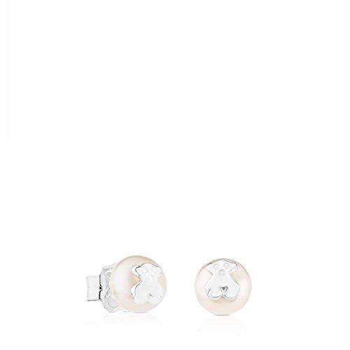 TOUS Pendientes botón Mujer plata - 911143500