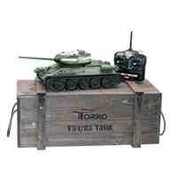 Torro 3909-B - T34/85 RC Panzer 2.4 GHz 1/16 Profi-Metall BB, grün