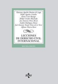 Lecciones de Derecho Civil Internacional (Derecho - Biblioteca Universitaria De Editorial Tecnos)