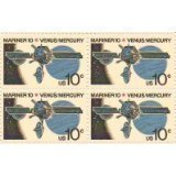 mariner-10-venus-mercury-set-of-4-x-10-cent-us-postage-stamps-new-scot-1557-by-us-postage-stamps