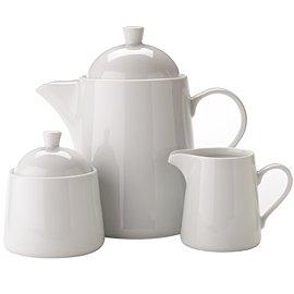 Thomas 11900-800001-14235 Set de 3 Théières 3 Porcelaine Blanc 18 x 18 x 16,7 cm