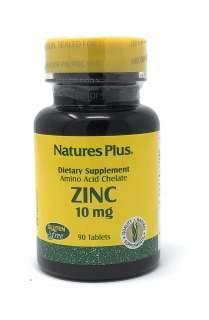 Natures Plus ZINC 10 MG TABLETS 90 -
