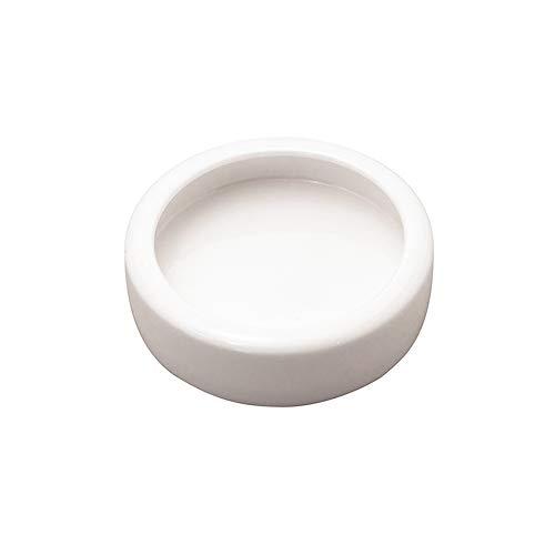 HXHON - Ciotola in Ceramica per rettili, Cibo per Insetti, Cibo per rettili, Acqua e Vermi