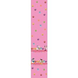 Disney minnie & friends tenda per cameretta in voile rosa