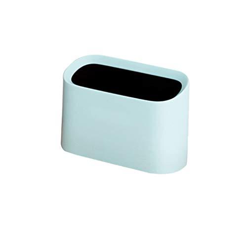 Zlw-shop Secchi per la spazzatura Creative Cute Desktop Trash Can Office Soggiorno Camera da Letto Mini Home Desktop Piccola pattumiera