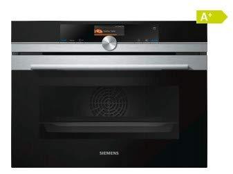 Siemens iQ700 CS636GBS2 - Horno (Medio, Horno eléctrico, 47 L, 47 L,...