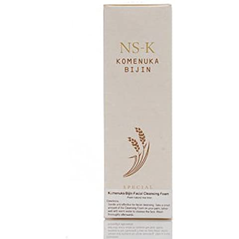 NS-K Special Facial Cleansing Foam 3.3 oz by Komenuka Bijin by Komenuka (3.3 Ounce Cleansing Foam)