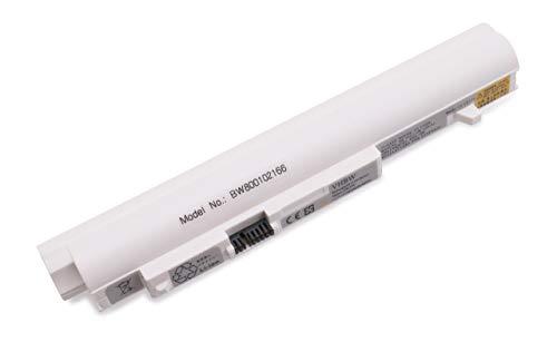 vhbw Batterie Li-ION 4400mAh 11.1V Blanche pour IBM Lenovo Ideapad S10-2, remplace Les modèles L09C3B12, L09C6Y12, L09C6YU11, L09M3B11, 55Y9382, 55Y9383