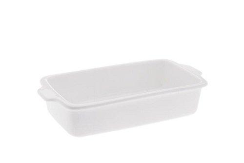 Maxwell & Williams aa0883Cuisine Plat à Four plat à lasagne rectangulaire en porcelaine, plat à tarte, 26cm