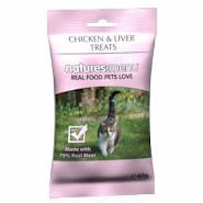 Natures Menu Cat Treats Real Meat Chicken & Liver 60g