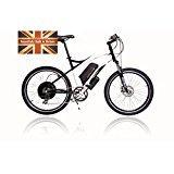 Cyclotricity bici elettrica, Stealth 1000W 12Ah agli ioni di litio 50,8cm motore elettrico bicicletta, e-bike, alimentazione Ebike