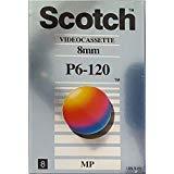 Scotch Video Kassetten, 8mm, P6-120MP, Metall Partikeln -