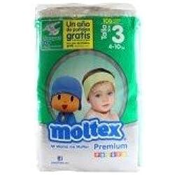 Pañales MOLTEX talla 3 60 pañales
