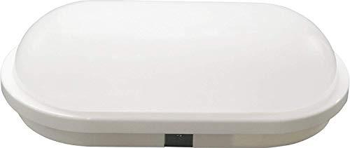 LED 15W IP65 IK08 Deckenleuchte oval - 1200lm - 220x120x65mm - warmweiß (3000 K)