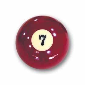 "Billardkugel Nr. 7 Pool-Ball ""Favorite"" Nr. 7"