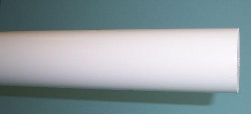 Kirsch Bois Tendances 2 Diamètre 1,2 m Pole Lisse Blanc