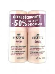 Nuxe Body Long-Lasting Deodorant 2 x 50ml