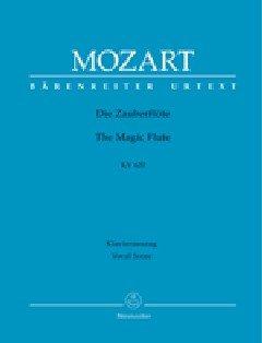 Preisvergleich Produktbild BARENREITER MOZART W.A. - DIE ZAUBERFLÖTE KV 620 - KLAVIERAUSZUG Klassische Noten Chor und Gesangsensemble