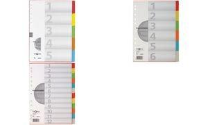 Preisvergleich Produktbild Pagna 32001-20 Register 10-teilig, 5-farbig mit Deckblatt