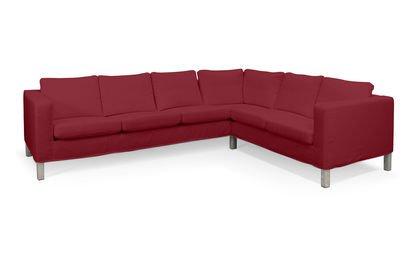Cover for IKEA KARLANDA Corner Sofa Short Cover Right in Amsterdam Dark Red