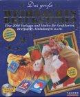 Das große Weihnachts-Druckstudio, 1 CD-ROM Über 2000 Vorlagen und Motive für Grußkarten, Briefpapier, Einladungen u.v.m. Auch für E-Mail-Grüße