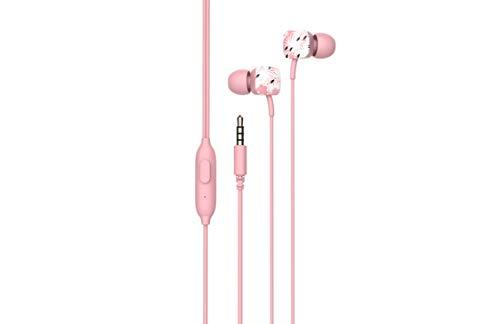 SPC Hype - Auriculares con cable y manos libres - Color Rosa