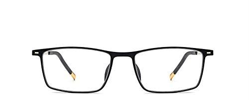 GPZFLGYN Anti-Blau Computer Gläser Anti-Fatigue Unisex Ultraleichte Brille Vollformat Classic Business Anti-Blue Ray Flachspiegel Herren Damen Brillenfassungen