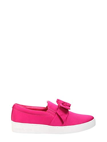 Michael Kors Michael by Damen 43R8wifp1d564 Fuchsia Leder Slip On Sneakers