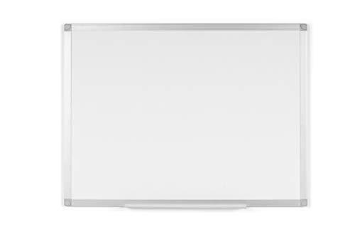 BoardsPlus - Pizarra blanca marco aluminio bandeja