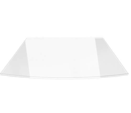 Temprix Kaminbodenplatte Funkenschutzplatte Glasplatte und Metallplatte f/ür Kamin und Ofen Glasscheibe Gr/ö/ßte Auswahl an Glasbodenplatte und Metallbodenplatte Bodenplatte Glas /& Metall