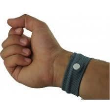 BOOLAVARD Handgelenk Band 2Pcs Travel Motion morgendliche Übelkeit Flugzeug Baumwolle wiederverwendbare Armband Handgelenk Band Armband gegen Übelkeit