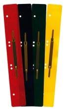 Preisvergleich Produktbild Heftstreifen aus Kunststoff, DIN A4 lang, 31x4,5cm, weiß