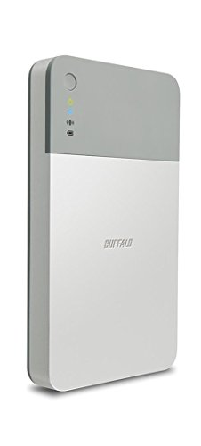 Buffalo HDW-PD1.0U3-EU MiniStation Air2 1Tb Mobile Festplatte mit WLAN und USB 3.0 mit Smartphone Ladefunktion