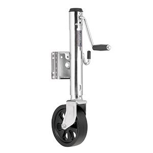 Fulton Jack, 1500-Pound Swing-Away with Bolt-On Steel Construction, 12-Inch Travel, 8-Inch Poly Wheel by Fulton