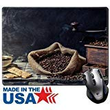 MSD Naturkautschuk Maus Pad/Matte mit genähte Kanten 9,8x 7,9Geruch von Vintage Brauen Kaffee Bild 24301409 -