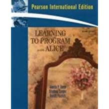 Learning To Program with Alice: International Edition
