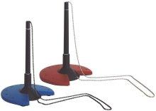 Helit H6359098 - Kugelschreiberständer, schwarz / grau