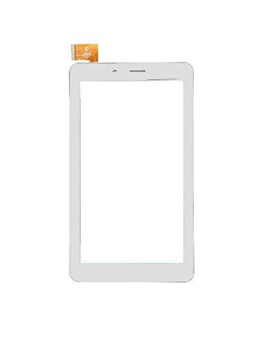 vetro tablet mediacom ULDAN Touch Screen Vetro per MEDIACOM SmartPad iyo 7 M-SP7BY Bianco Originale
