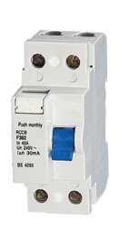 fi schutzschalter 25A FI - Schalter 2 polig 25A 30mA Fehlerstromschutzschalter Typ A