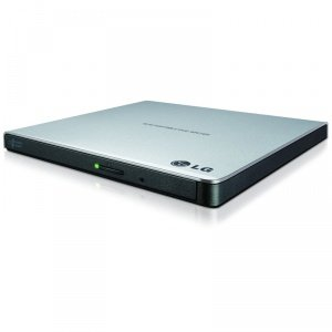 Lg gp57es40 masterizzatore dvd, argento