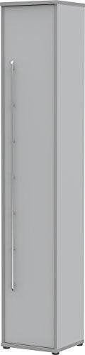Preisvergleich Produktbild Wellemöbel,  Tool,  Aktenschrank,  6 Ordnerhöhen,  40 cm,  Office-grau