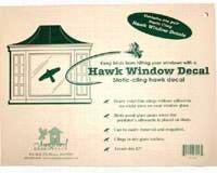 Static Cling Window Hawk 2 per pkg. (Replaces the VIHAWK) -