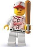 Lego: Minifigures Series 3 > Baseball Player