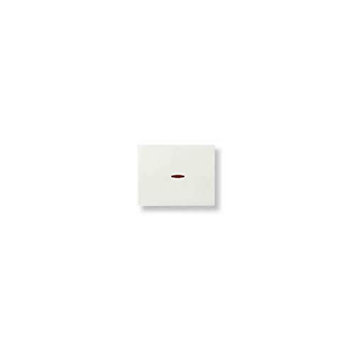 Niessen olas - Tecla interruptor conmutador cruzamiento con visor serie olas blanco...