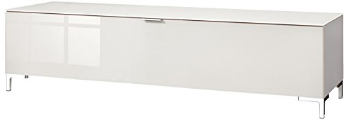 CS Schmalmöbel 45.012.570/011 TV-Board Cleo Typ 11, 163 x 50 x 44 cm, weiß/sandglas