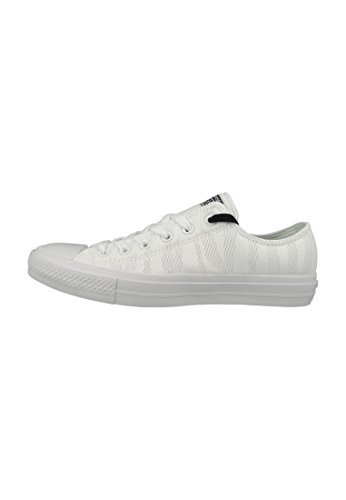 Converse - Chuck Taylor All Star Ii, Scarpe basse Unisex – Adulto White Gum White