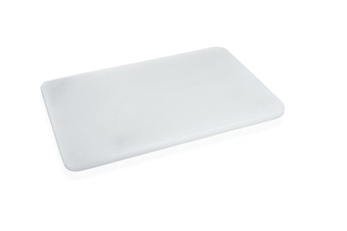 Schneidebrett weiß Kunststoff groß ca. 60 x 40 x 3 cm HACCP Gastro Qualität