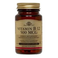 Solgar Vitamin B12 500 mcg Vegetable Capsules