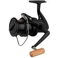 Okuma Custom Black CB-60 Rolle - 310m 0,35mm Schnurfassung, Brandungsrolle, Angelrolle mit Weitwurfspule, Karpfenrolle
